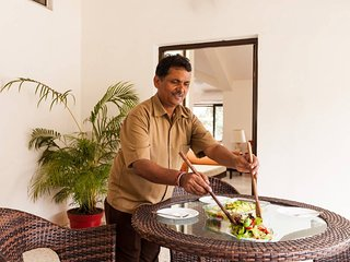 The in-house cook who will delight your taste buds with easy Indian home food. He is open to request
