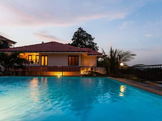 Fully-Serviced 4BR Holiday Home in North Goa with Cook, Pool & Shared Car