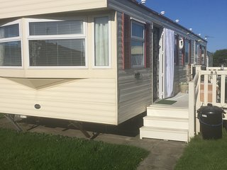 Static 2 bedroom Caravan