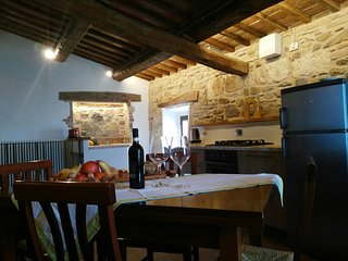 HISTORIC APARTMENT OVERLOOKING VAL D'ORCIA