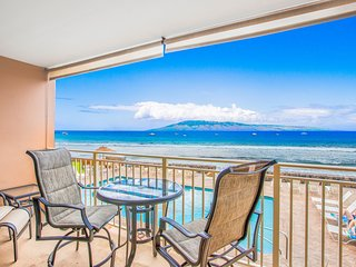 Gorgeous Views; Prime Oceanfront Lahaina Location, Heated Oceanfront Pool!