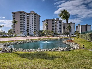 NEW! Resort Studio Condo - Walk to Bonita Beach!
