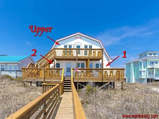 Beach Barn 1 - OCEANFRONT & PET FRIENDLY!!