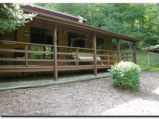 Cozy 2 Bedroom Perched at 3600', Great View, Paved Access, Garage, WIFI