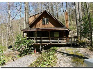 Mountain Chalet w/Master Suites, Wood FP, Close to Town, Covered Porch