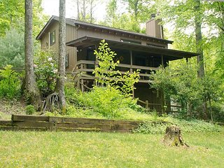 Pet Friendly Mountain Getaway - Easy Paved Access, Covered Porch & Wifi