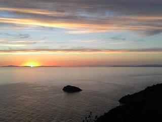 Vista mozzafiato del Giglio, Montecristo, Corsica