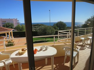 Acacias Apartment G. In Luz, Sea Views, 2 pools, walk to everywhere and beach.