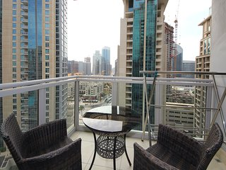 One Bedroom with Downtown View