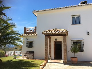 The beautiful Finca Los Gorriones set in the Mijas mountains