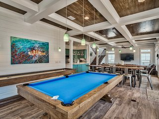 Holiday Chill Pill DISCOUNTED 7bd-7.5ba, Pool Table-Shuffleboard, Heated Pool