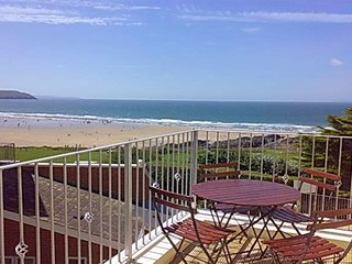 3 Belmont Court enviable position just minutes from Woolacombe beach.