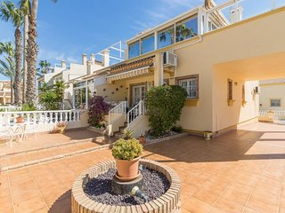 52. 3 bed 2 Bath Apartment At Montillas II, Playa Flamenca overlooking the Pool