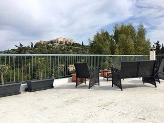 Luxury Acropolis & Sightseeing + large terrace!