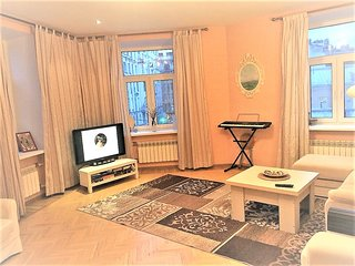 Elite 1-br apartment in city center near Nevsky prospect