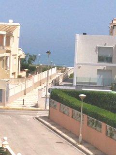 Vista mar desde terraza dormitorio principal
