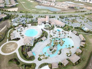 BrandNEW 4BR/PrivPool/Resort LazyRiver/Waterpark!