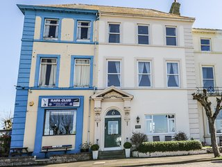 GREEN VIEW, superb views of Solway Coast, Victorian townhouse, period features