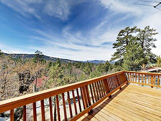 Stunning Lake Views - 3BR Mountainside Getaway w/ Deck & Game Room