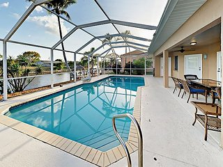 Waterfront 3BR w/ Private Pool, Dock, & 2 Master Suites - Minutes to Dining