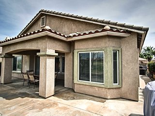 NEW! Indio House on Fairway w/ Country Club Perks!