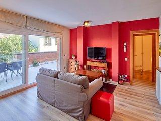 Apartamento con gran terraza - Girona