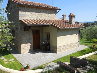 1 bedroom Apartment in Castellina in Chianti, Tuscany, Italy : ref 5490581