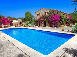 5 bedroom Villa in Cas Concos, Balearic Islands, Spain : ref 5485093