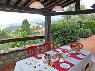 4 bedroom Villa in Mommio Castello, Tuscany, Italy : ref 5447671