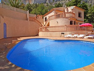 4 bedroom Villa in Calpe, Valencia, Spain : ref 5435356