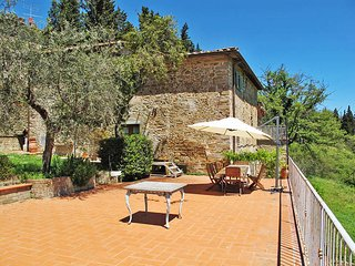 4 bedroom Apartment in San Polo in Chianti, Tuscany, Italy : ref 5446897