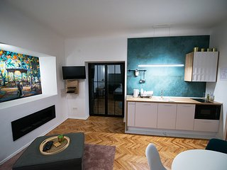 Green Oasis Zagreb City Deluxe Apartment