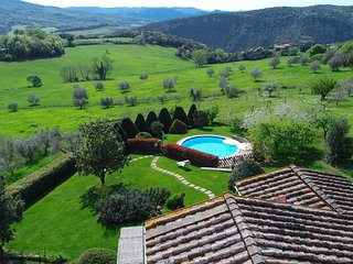 View from the Villa: the Tuscan hills