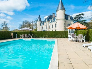 9 bedroom Chateau in Beaupréau, Pays de la Loire, France : ref 5049824