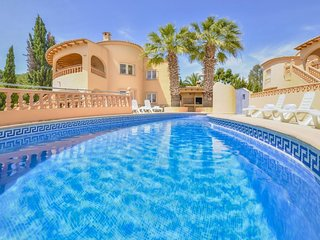 5 bedroom Villa in Moraira, Valencia, Spain : ref 5506447