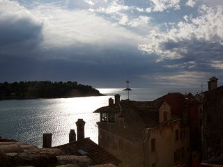 Penthouse Certa Rovinj, directly on Rovinj Riva boardwalk