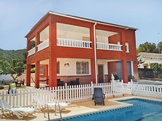 4 bedroom Villa in Sant Vicenc de Calders, Catalonia, Spain : ref 5533924