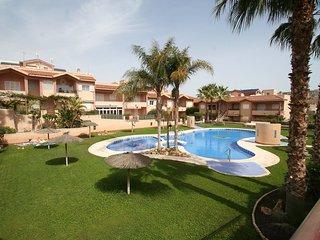 2 bedroom Apartment in Gran Alacant, Valencia, Spain : ref 5559456