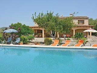 4 bedroom Villa in Petra, Balearic Islands, Spain : ref 5523204