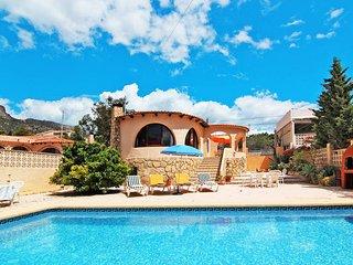 2 bedroom Villa in Calpe, Valencia, Spain : ref 5435388