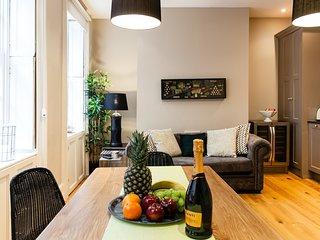 Living room plus dining area