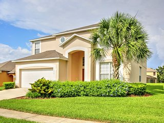 3 Miles to Disney-7BR/4.5BA Villa, Pool, SPA,WiFi