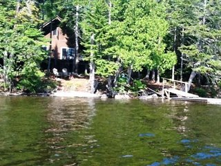 Waterfront home w/ dock access & firepit - close to fishing & hiking - Dogs OK!
