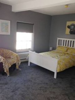 Top bedroom with a double