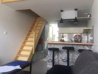 Jolie maisonnette renovée au coeur du quartier Bel-Air.