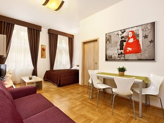 Apartment in the center of Prague with Air conditioning, Lift, Washing machine (