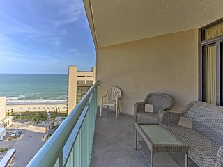 NEW! Myrtle Beach Condo within Oceanfront Resort!