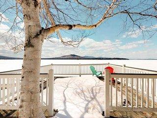 Homey, lakefront cottage w/ deck, dock, firepit, & plenty of privacy & seclusion