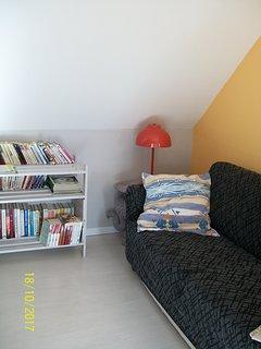 sala lettura al piano di sopra