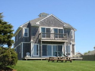 Oceanfront 7 bedroom home with private 200 foot beach